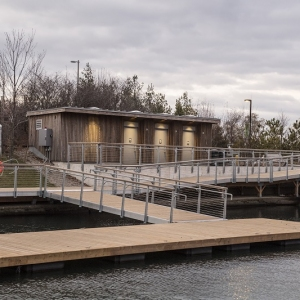 Ontario Place Washroom and Floating Dock