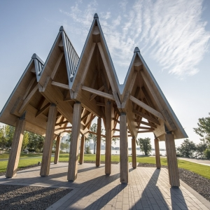 Timber Pavilion Structure